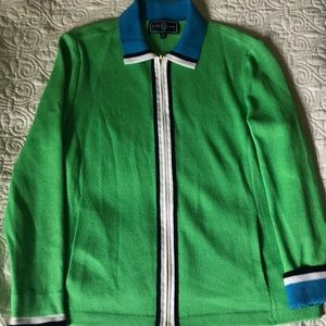 St John Sport Medium Green Cardigan